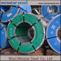 2b Fininsh Cold Rolled 430 Stainless Steel Coil Dari Wuxi