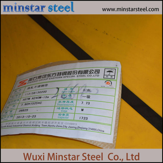ASTM A240 A240M 316L Stainless Steel Coil